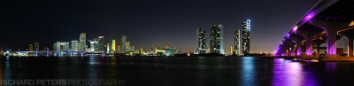Miami Skyline, click for 800 pixels wide
