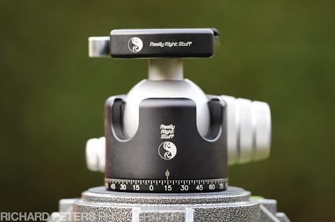 The BH-55 ballhead review from Really Right Stuff
