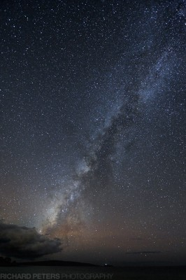 Milky Way, Maui, Hawaii, Nikon D3s