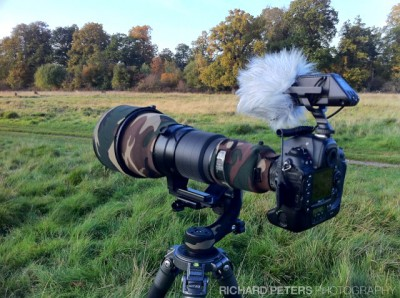Nikon D3s setup for shooting video, Richard Peters Photography