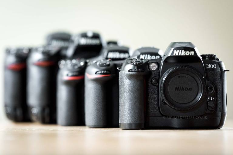 Nikon anniversary: My all time favourite Nikon DSLRs.